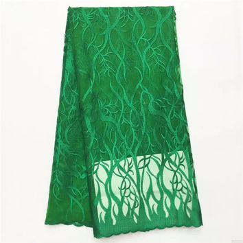 Hot selling products Latest african lace High Quality Tulle Lace Fabric For wedding dress sewing  WS1042