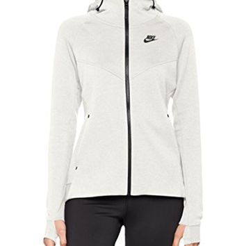 NIKE Womens Tech Fleece Full Zip Hoodie