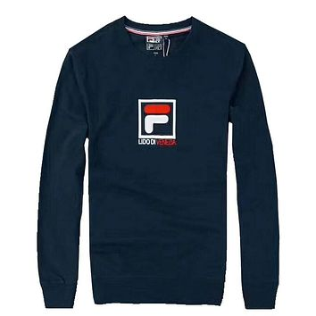 Boys & Men Fila Fashion Casual Top Sweater Pullover