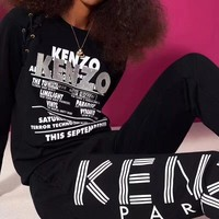 """KENZO "" Women Men leggings Movement trousers"