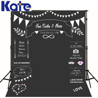 Theme Wedding Backdrops Styles Blackboard for Photo Studio Wedding kate chalk Background