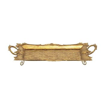 Metal Gold Serving Tray