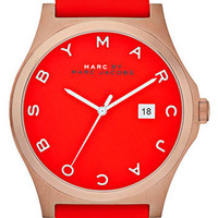 MARC BY MARC JACOBS 'Henry' Leather Strap Watch | Nordstrom