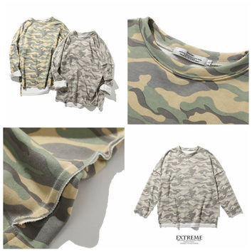 Fashion Autumn Cotton Camouflage Hoodies [8598687427]