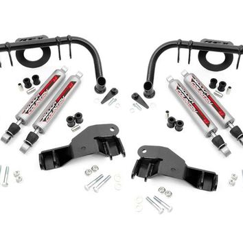 Ford F250 Super Duty Dual Front Shock Kit for 6-inch Lifts 2005 - 2007