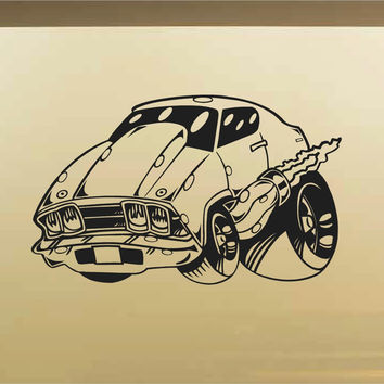 Chevy Chevelle Car Wall Decal - Auto Wall Mural - Vinyl Stickers - Boys Room Decor