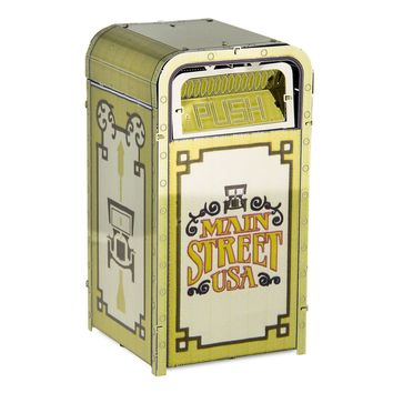 Disney Parks Main Street Trash Can Metal Earth Metal Model Kit 3D New