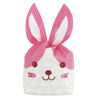 Pink Bunny Ear Bags