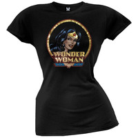 Wonder Woman - Classic Circle Juniors T-Shirt