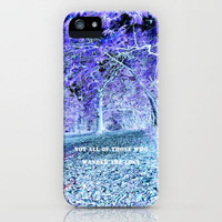 Wandering iPhone Case for iphone 5, 4S, 4, 3GS, 3G by Alice Gosling | Society6