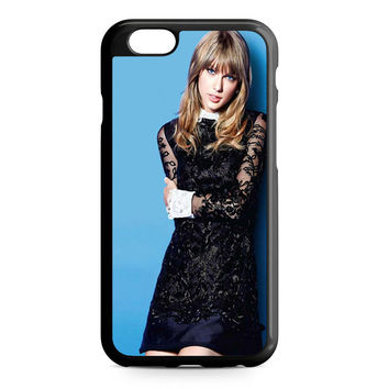 taylor swift cover blue iPhone 6 Case