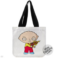 The Family Guy Stewie Drinking Game, handmade bag, canvas bag, tote bag