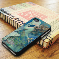 The Mermaid Painting Art iPhone 5 Or 5S Case