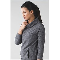 Lululemon High-Necked Long Sleeve Sport Tunic Shirt Top Blouse