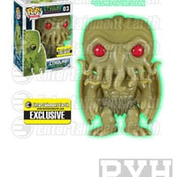Funko Pop! Books: Cthulhu - Glow In The Dark - Vinyl Figure Entertainment Earth Exclusive