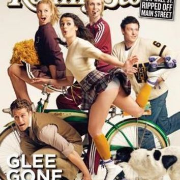Glee Rolling Stone Cover Poster Standup 4inx6in