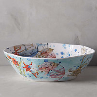 Under The Sea Melamine Serving Bowl