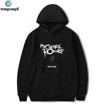 My Chemical Romance Hoodies Men/Women Black Parade Punk Emo Rock Hoodie Sweatshirt Casual Autumn Winter Jacket Coat Plus Size