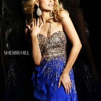 Sherri Hill Short Dress8443 at Prom Dress Shop