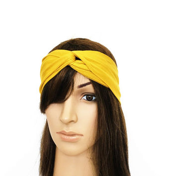 Gold Turban Headband