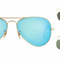 Cheap Brand New!! Ray-Ban RB3025 Aviator Large Metal Sunglasses outlet