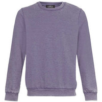Purple Burnout Sweatshirt - Mens Hoodies & Sweatshirts - Clothing