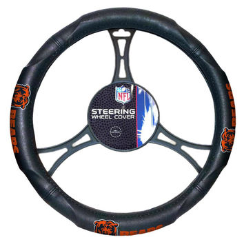 Chicago Bears NFL Steering Wheel Cover (14.5 to 15.5)