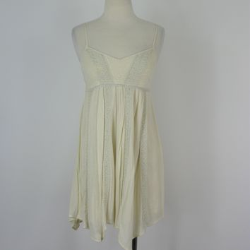 American Eagle Outfitters Peasant BoHo Chic Gauzy Sundress NWT S/P