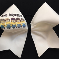One Direction Minion Cheer Bow