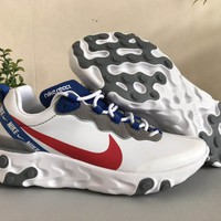 HCXX 19Aug 122 Nike React Element 55 SE Taped Seams CD7340-100 Casual Sports Running Shoes