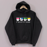 5sos Funny design long sleeved hooded Unisex adult