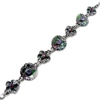 Perfect Gift - High Quality Vintage Bracelet with Purple Swarovski Crystal - 23cm (532) for Valentine\'s day Gifts Free Standard Shipment Annual Clearance - Like Love Buy