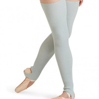 "27"" Stirrup Legwarmers (Light Grey)"