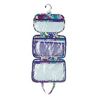 Vera Bradley Signature Print Medium Hanging Organizer and 3-1-1 Cosmetic — QVC.com