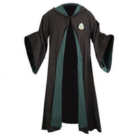 Harry Potter Authentic Replica Adult Slytherin Robe |