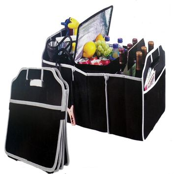 Automobile Trunk Folding Organizer