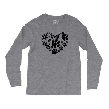 cat love paw Long Sleeve Shirts