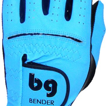 GOLF GLOVE ● Sky Blue Synthetic - Cabretta Leather