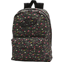 Vans Realm Backpack - Floral Dots/Black/True White