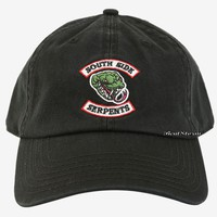 Licensed cool Riverdale South Side Serpents Dad Cap Ballcap Baseball Hat Adjustable Hot Topic