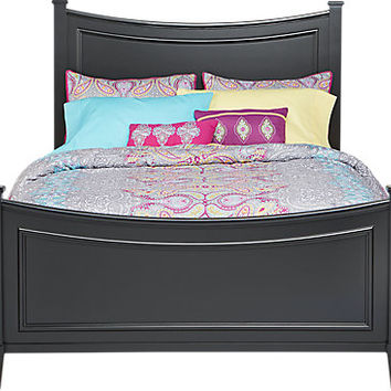 Jaclyn Place Black 3 Pc Full Bed