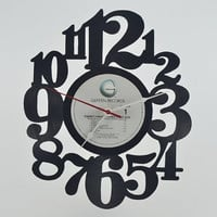 Vinyl Record Album Wall Clock (artist is Sammy Hagar)