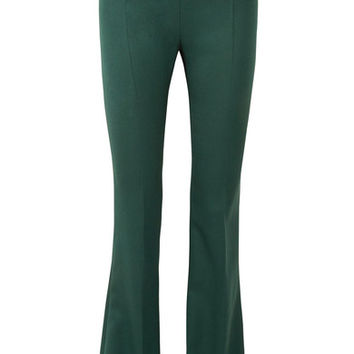 Pierre Balmain - Wool-twill flared pants