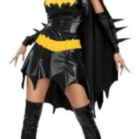 DC Comics Secret Wishes Sexy Batgirl Adult Costume:Amazon:Clothing