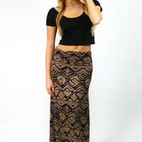 Of The Earth Maxi Skirt