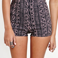 Kirra High Rise Mill Tribal Shorts at PacSun.com