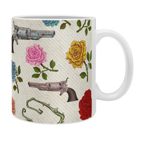 Belle13 Sweet Guns And Roses Coffee Mug