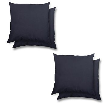 stratford home Indoor/ Outdoor Sunbrella Pillows Set (Navy)
