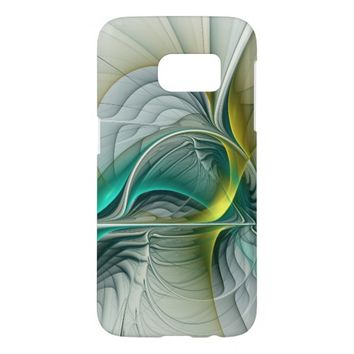 Fractal Evolution, abstract Art Samsung Galaxy S7 Case