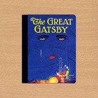 The Great Gatsby,ipad 4 case,ipad 4 cover,ipad air case,ipad air cover,ipad 2 case,ipad 2 cover,ipad 3 case,ipad 3 cover,in leather.